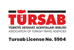 Tursab license logo