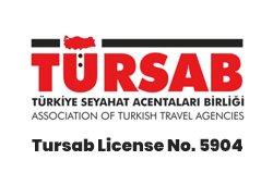 Tursab license logo
