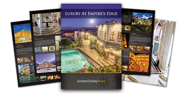 Hotel Brochure montage brochure